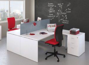 For4 Office Panel End Desks