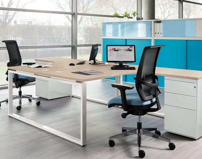 Desking office desks office desk london modern for Office desk features
