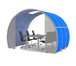 Acoustic Screen Meeting Area