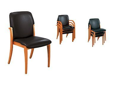 Prestige Leather Meeting Chairs