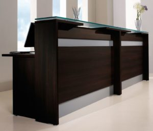 Reception Desk Welcome