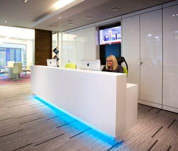 Office Reception Furniture Office Reception Desks