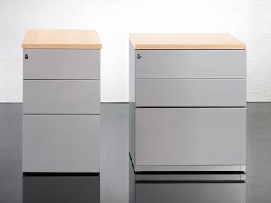 Sit Stand Desk Storage