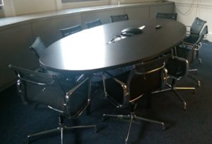 HM Treasury Executive Meeting Table