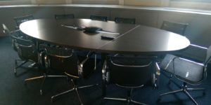 HM Treasury Meeting Table