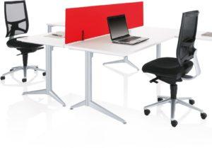 White Desks Pure