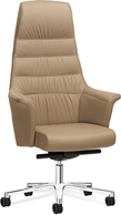 Berline Leather President Chair