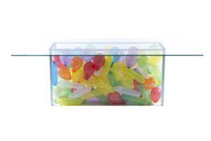 Balloon Glass Table