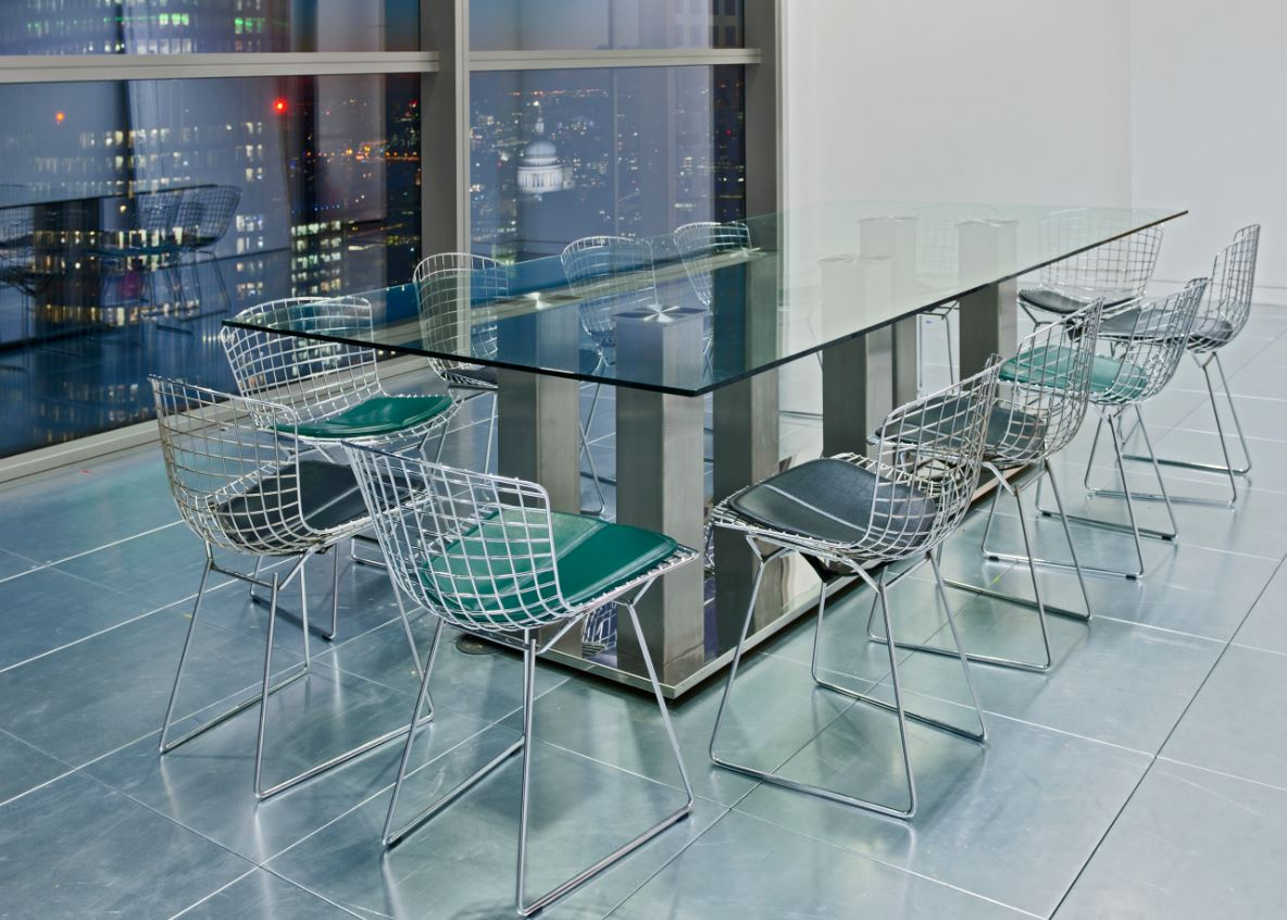 Glass conference table for sale - Modern Glass Meeting Tables