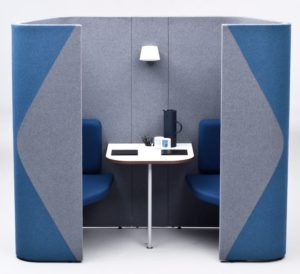 Acoustic Pods Meeting Area