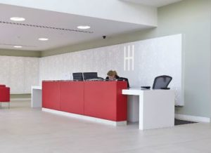 Cubist Reception Desk