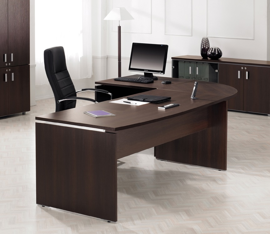 Executive desks executive office desks solutions 4 office for Office furniture designs photos