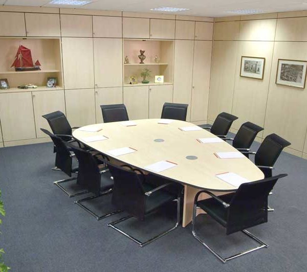 Pear Shaped Boardroom Table