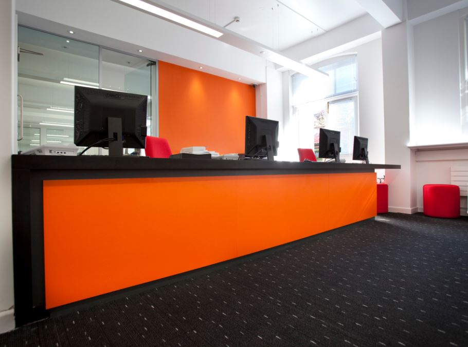 Office Reception Furniture Office Reception Desks