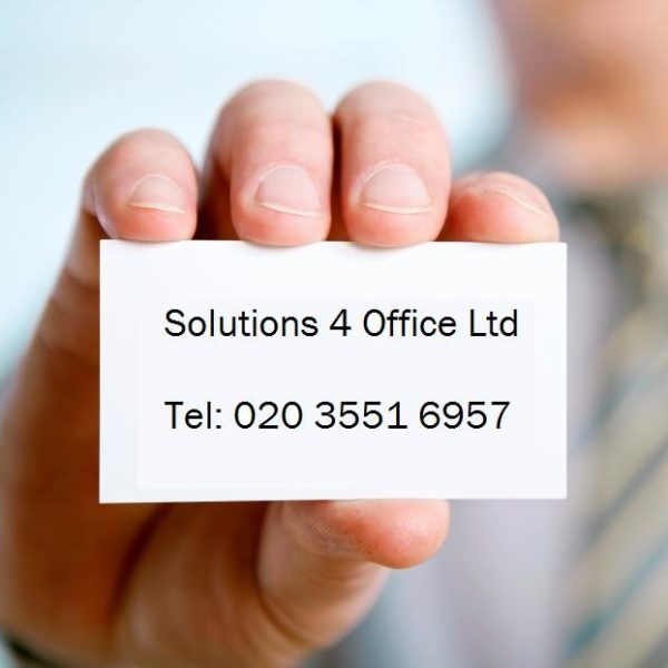 Solutions 4 Office Ltd Contact Card