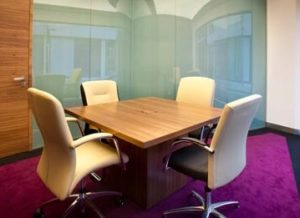 Square Boardroom Table