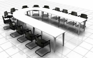 U Shaped Meeting Table