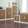 Tambour Storage Units