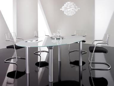 Meeting Furniture Boardroom Furniture Boardroom Tables - Glass boardroom table