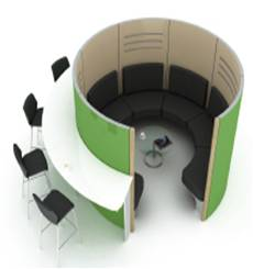Acoustic Screen Pods
