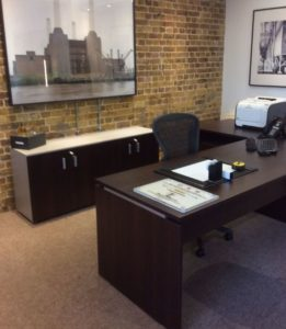 Executive Secretarial Desk