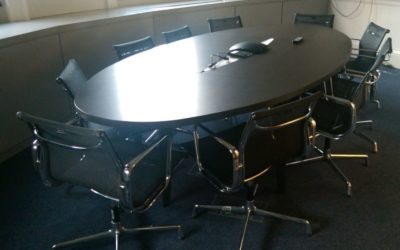 HM Treasury Executive Meeting Table