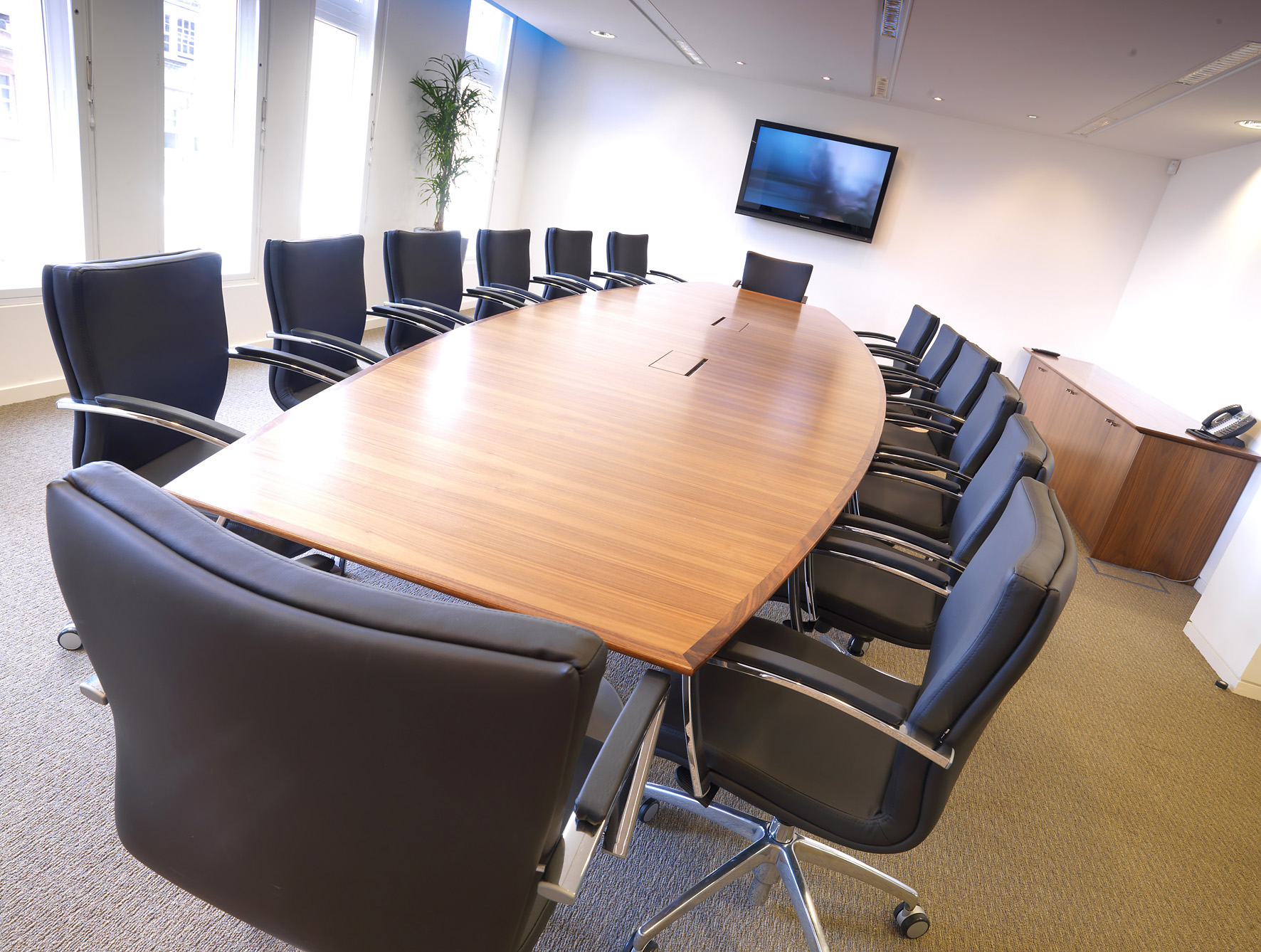 Executive office furniture from stock boardroom Room and board furniture quality