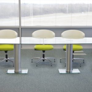 Rectangular Glass Table