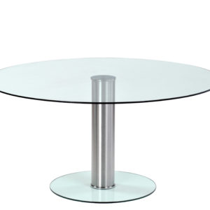 Unique Circular Glass Meeting Table