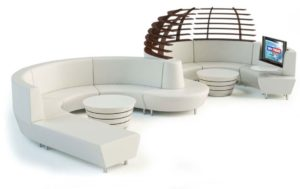 Modern Reception Seating