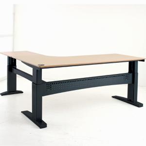 Electric Adjustable Desk L Shaped