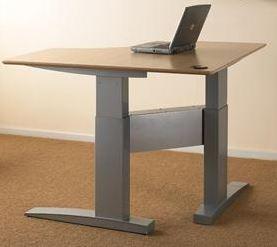 Ergonomic Office Desks Electrically Adjustable