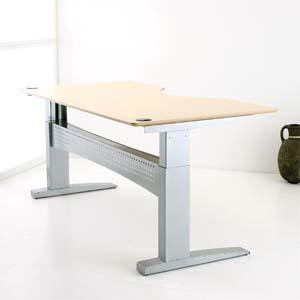 Sit Stand Desk Double Wave
