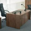 Executive Desk with Full Height Modesty Panel
