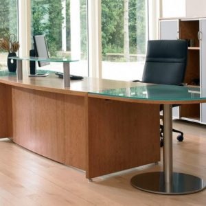 Executive Desk with Meeting Extension