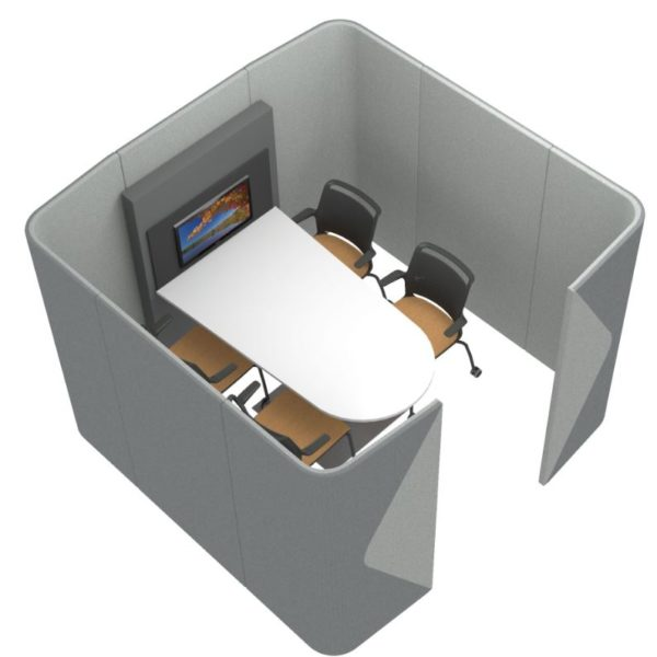 Office Meeting Pods for Presentations