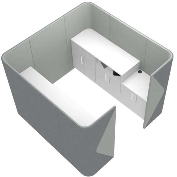 Sound Proof Pods for Printers and Machines