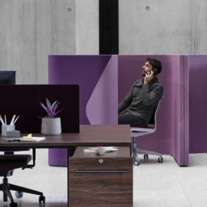 solo acoustic pod in office