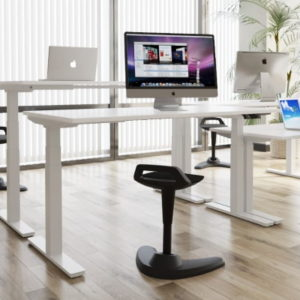 white sitstand desk for home use