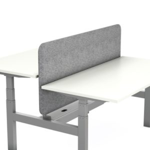 Axel Sit Stand Desk with screen