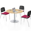 Circle Meeting Table
