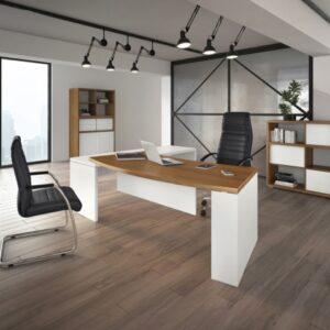 Large Desks with Return Module