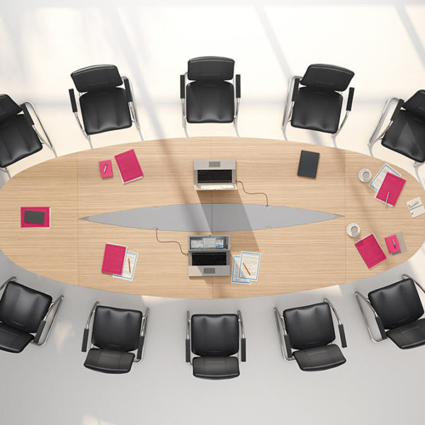 Multi Elliptical Conference Table