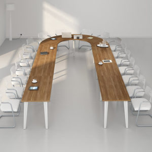 Multi Horseshoe Boardroom Table