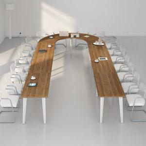 Multi Horseshoe Boardroom Table