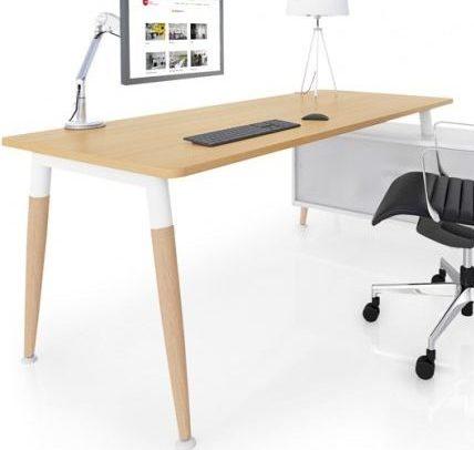 Native Executive Desk with optional Return module