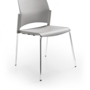 Conference Chair with Chrome Legs