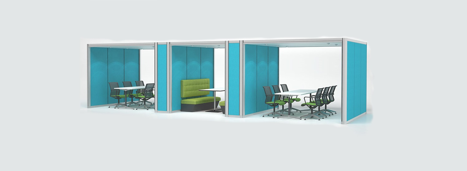 Acoustic Pods and Meeting Room