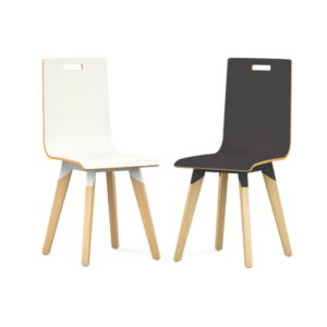 Breakout Chairs with Beech Legs
