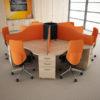 Desk Pods for Call Centres